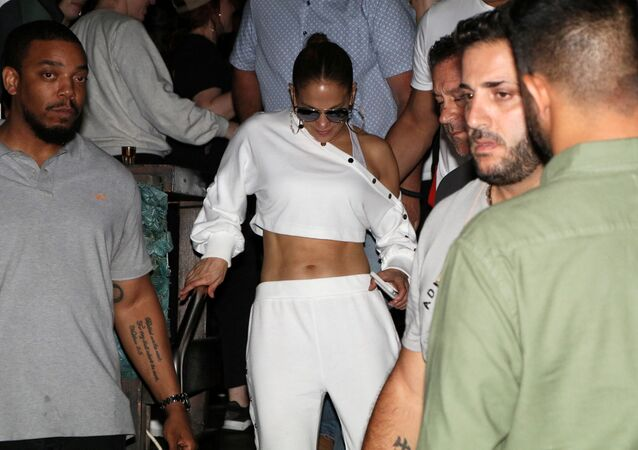 Actress and singer Jennifer Lopez is seen in Tel Aviv, Israel July 31, 2019