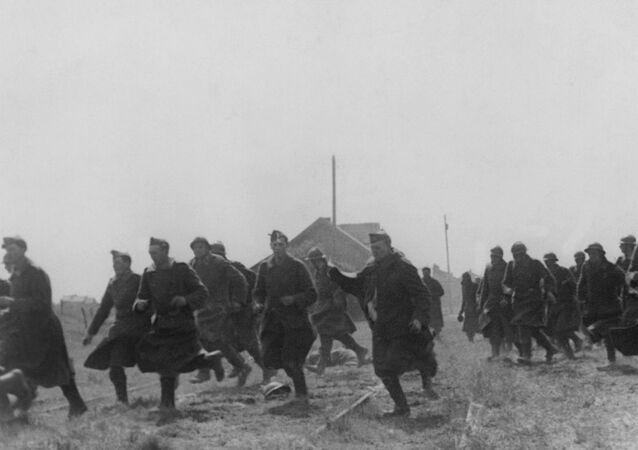 WWII BELGIUM GERMAN INVASION