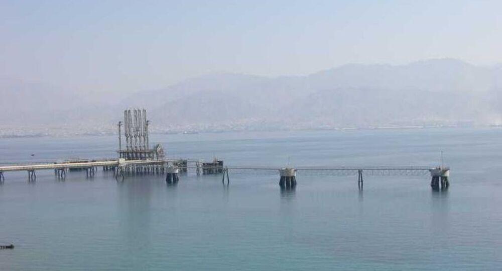 The Eilat-Ashkelon Oil-Pipeline jetty in Eilat