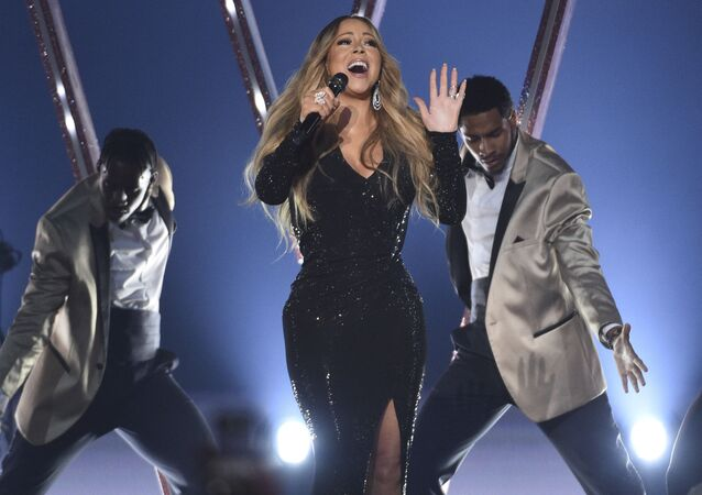 Mariah Carey performs a medley at the Billboard Music Awards on Wednesday, May 1, 2019, at the MGM Grand Garden Arena in Las Vegas
