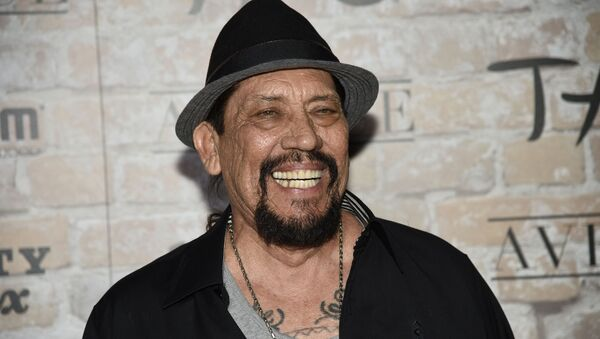 FILE - In this March 16, 2017 file photo, actor Danny Trejo arrives at the TAO, Beauty and Essex, Avenue and Luchini Los Angeles grand opening. Trejo played a real-life hero Wednesday, Aug. 7, 2019, when he helped rescue a baby trapped in an overturned car after a collision at a Los Angeles intersection - Sputnik International