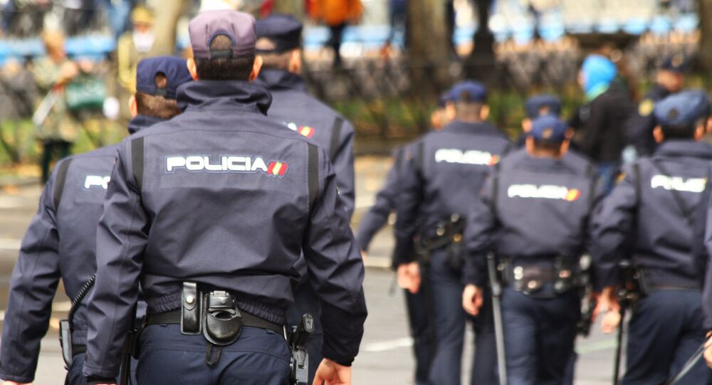 Members of Spain's national police
