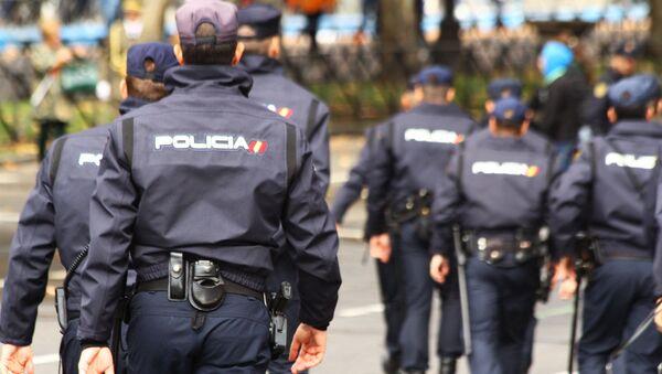 Members of Spain's national police - Sputnik International