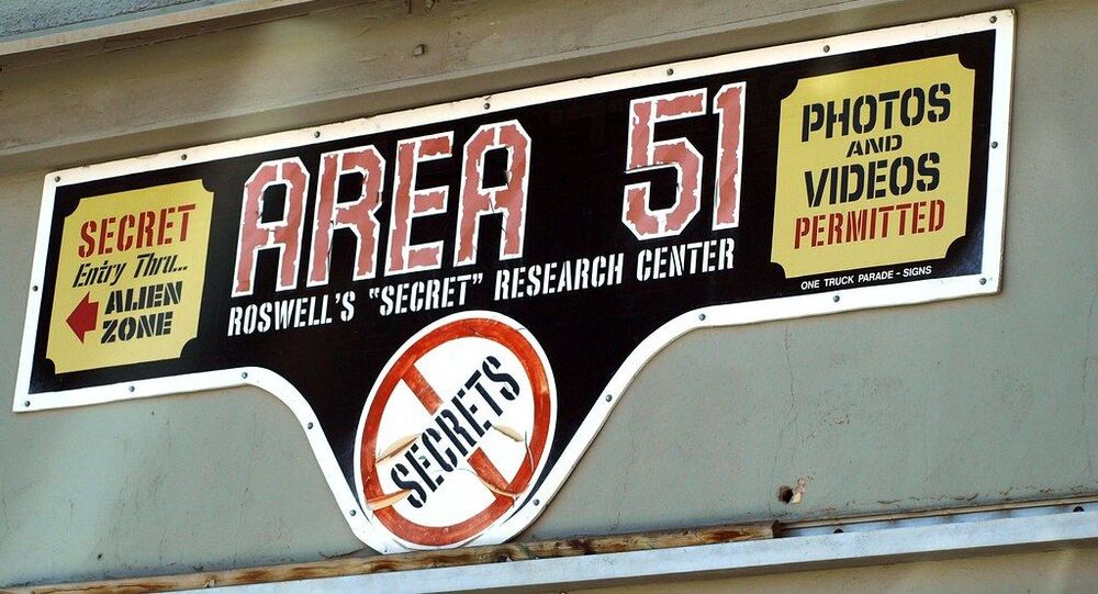 Area 51 sign, Roswell, NM