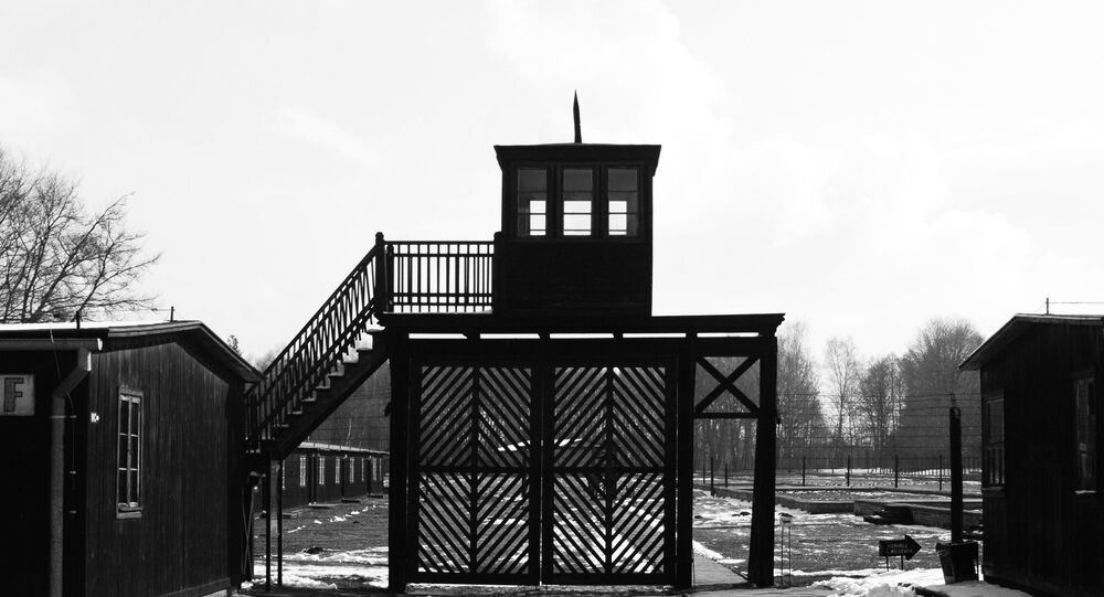 The Death Gate at the Stutthof Concentration Camp