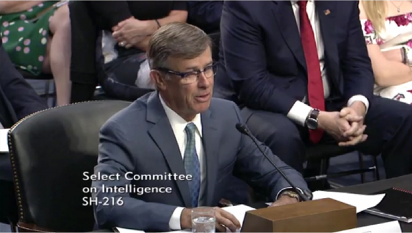 Retired US Vice Adm. Joseph Maguire speaking at his confirmation hearing before the Senate Select Committee on Intelligence for Director of the National Counterterrorism Center - Sputnik International