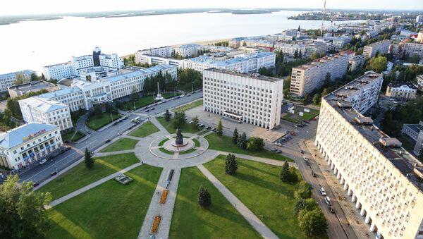 Arkhangelsk city, Russia - Sputnik International