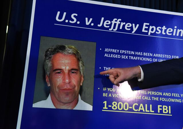 NEW YORK, NY - JULY 08: US Attorney for the Southern District of New York Geoffrey Berman announces charges against Jeffery Epstein on July 8, 2019 in New York City.