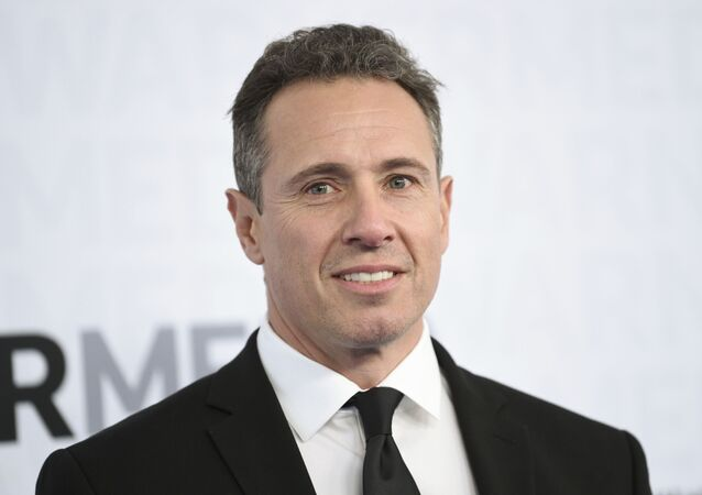 CNN news anchor Chris Cuomo attends the WarnerMedia Upfront at Madison Square Garden on Wednesday, May 15, 2019, in New York.