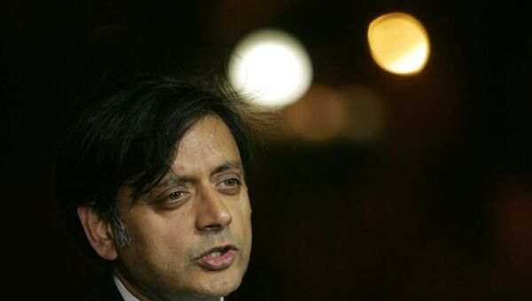 Shashi Tharoor - Sputnik International