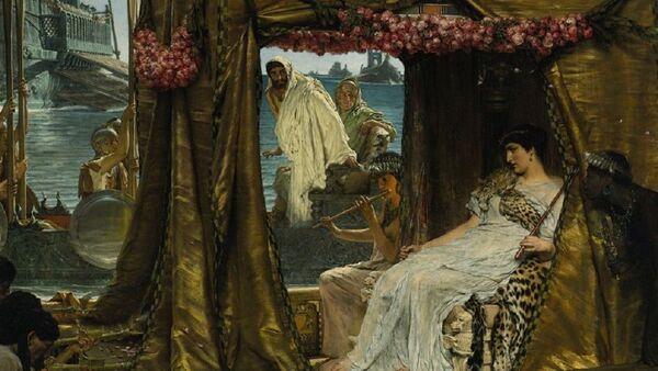 The Meeting of Antony and Cleopatra by Lawrence Alma-Tadema  - Sputnik International