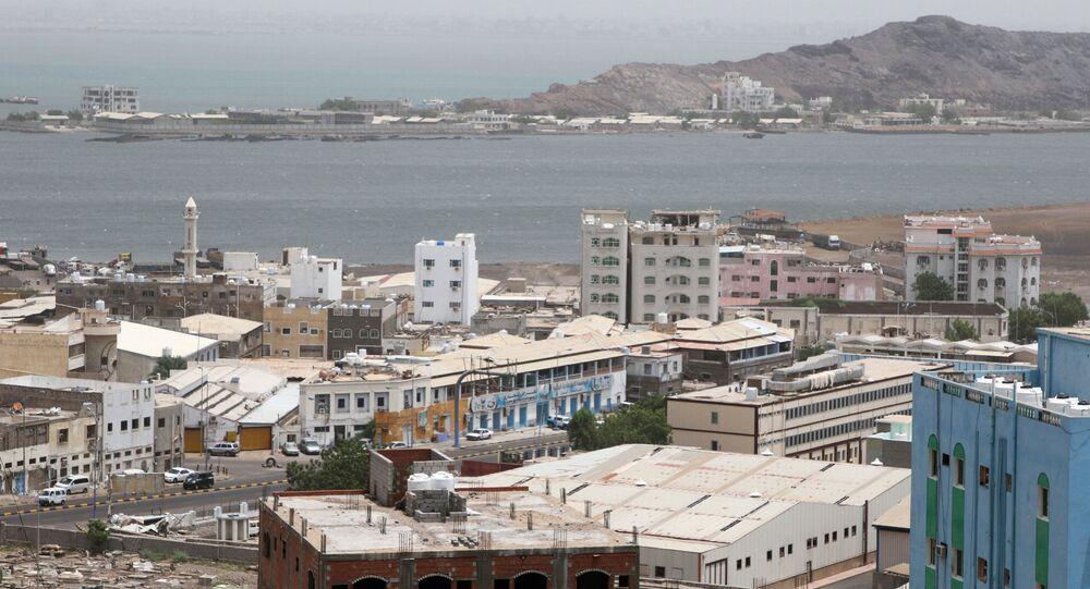 General view of Aden, Yemen, August 12, 2019