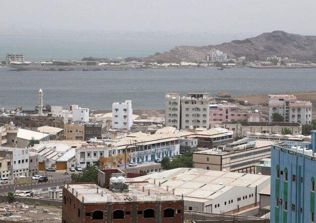 General view of Aden, Yemen, August 12, 2019