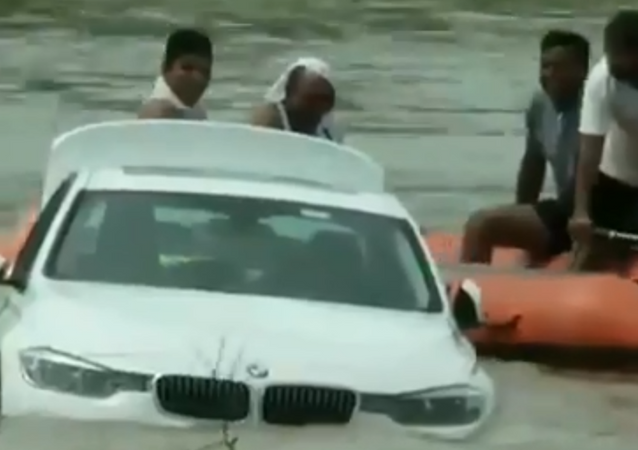 Indian man reportedly pushes BMW into river after not getting Jaguar he'd requested for his birthday