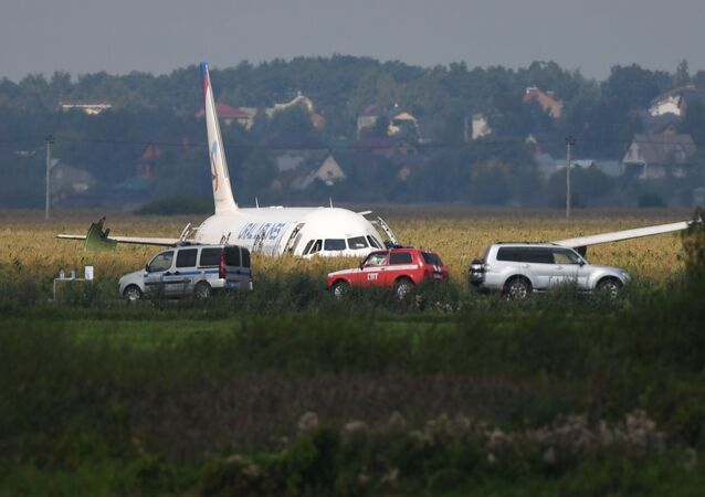 Russia A321 Plane Accident