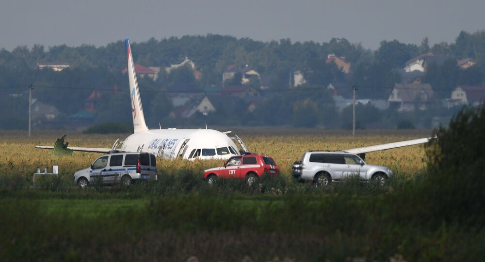 Russia A321 Plane Accident