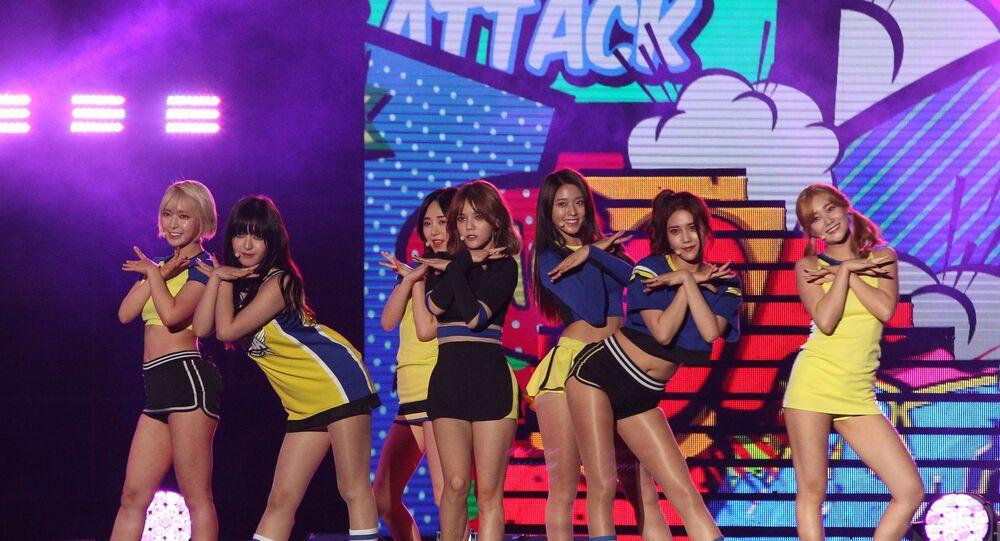South Korean pop group AOA