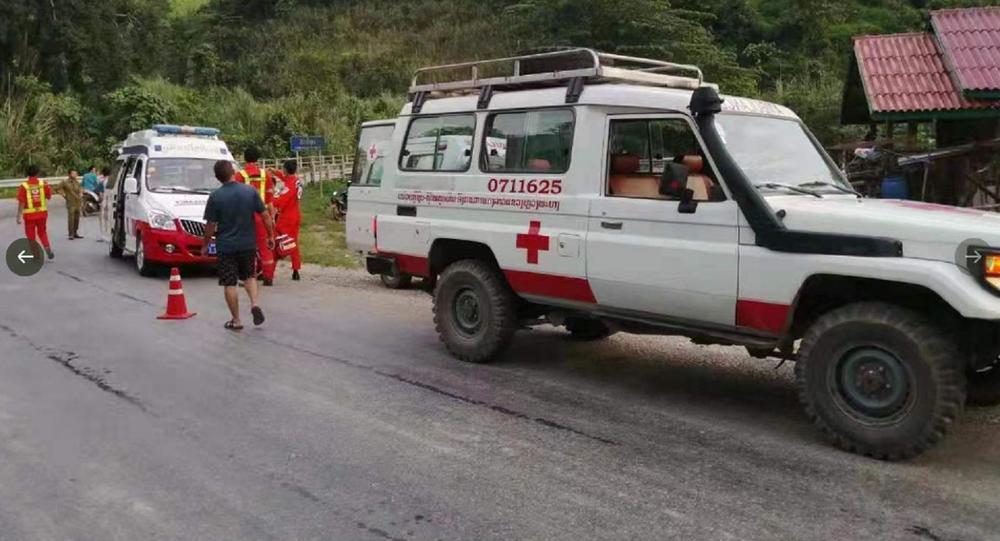 Laos ambulance