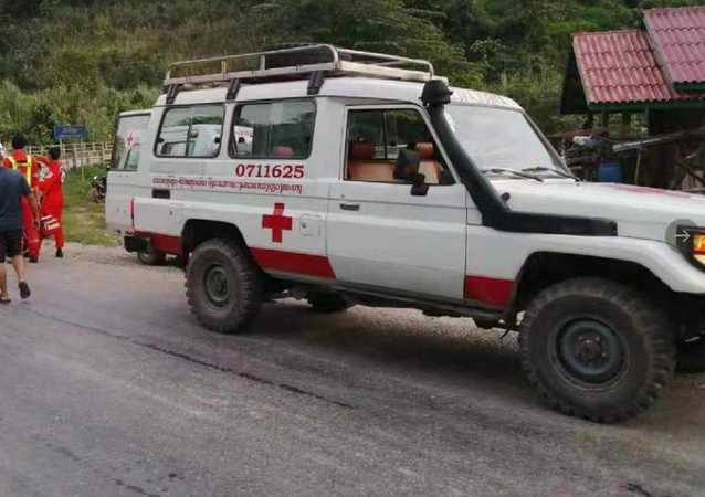 Laos ambulance