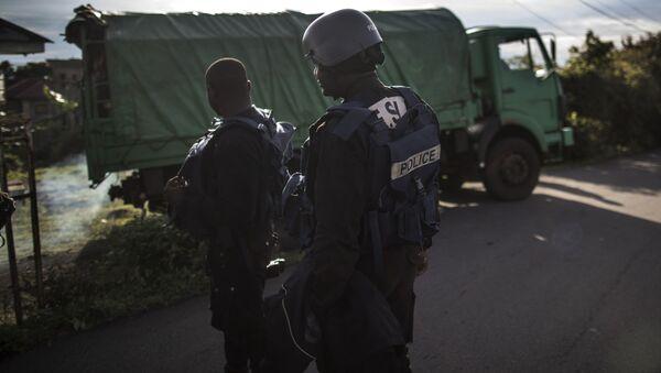 Cameroonian Police Officers  - Sputnik International