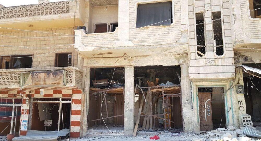 Syrian Army liberates Khan Sheikhoun