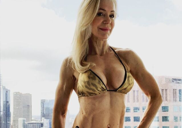 Australian fitness enthusiast Lesley Maxwell, 63