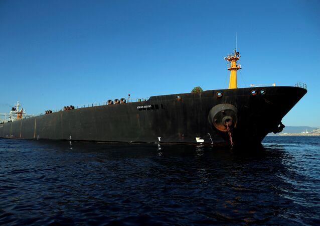 Iranian oil tanker Adrian Darya 1, previously named Grace 1