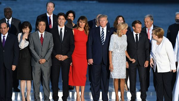 The G7 summit - Sputnik International