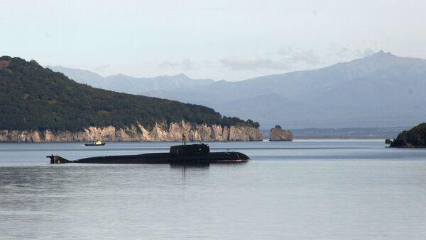 Russian Oscar-Class Submarine of Project 949 in Kamchatka - Sputnik International