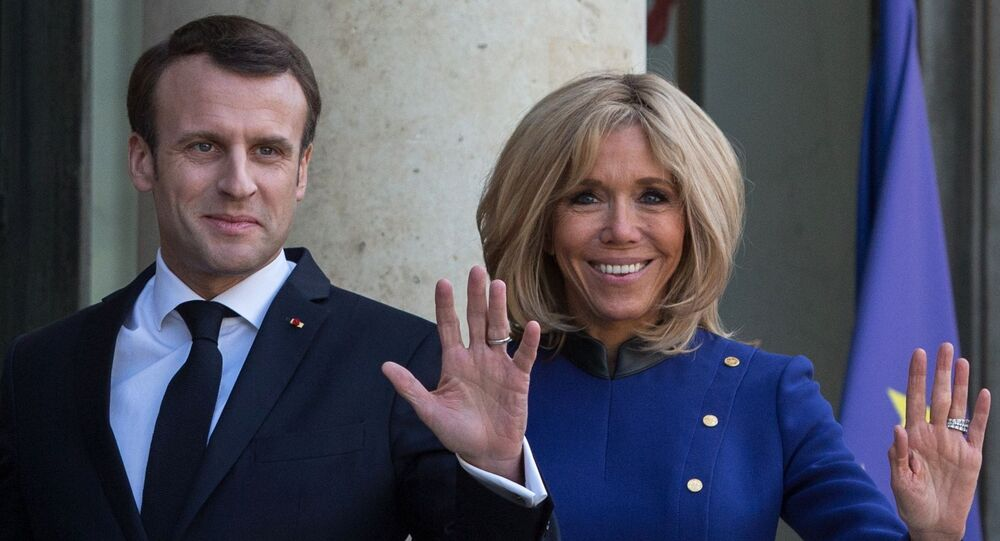 Emmanuel Macron S Wife Explains Why French President May Look Arrogant To Others Sputnik International