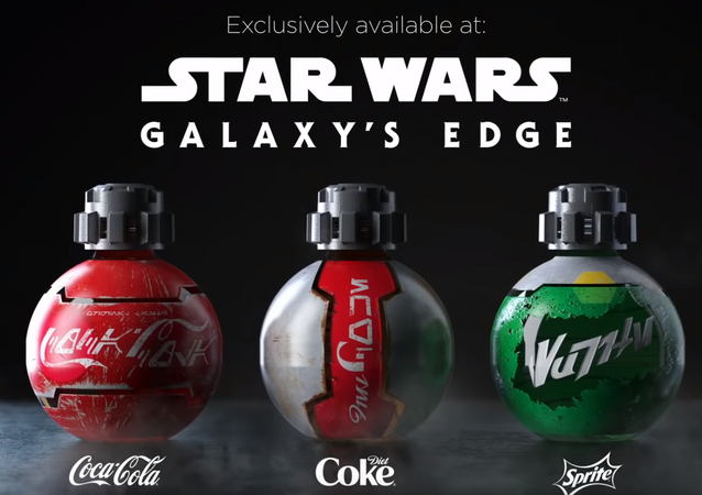 Coca-Cola and Disney Design Custom Bottles for Star Wars: Galaxy's Edge