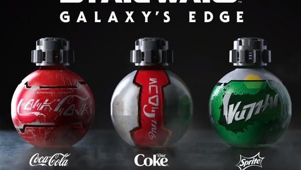 Coca-Cola and Disney Design Custom Bottles for Star Wars: Galaxy's Edge - Sputnik International