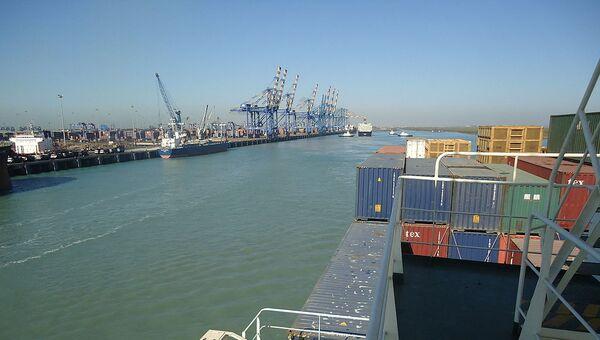 The port of Mundra in Gujarat - Sputnik International