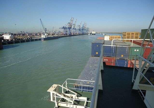 The port of Mundra in Gujarat