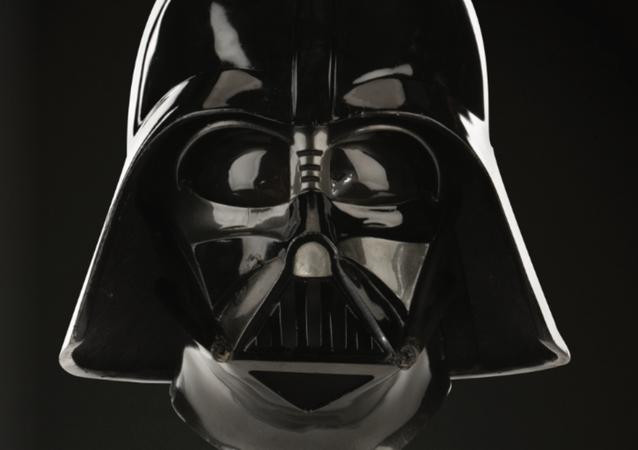 Auction company Profiles in History puts up an original Darth Vader helmet/mask, which was used by actor David Prowse during the filming of The Empire Strikes Back, for sale.