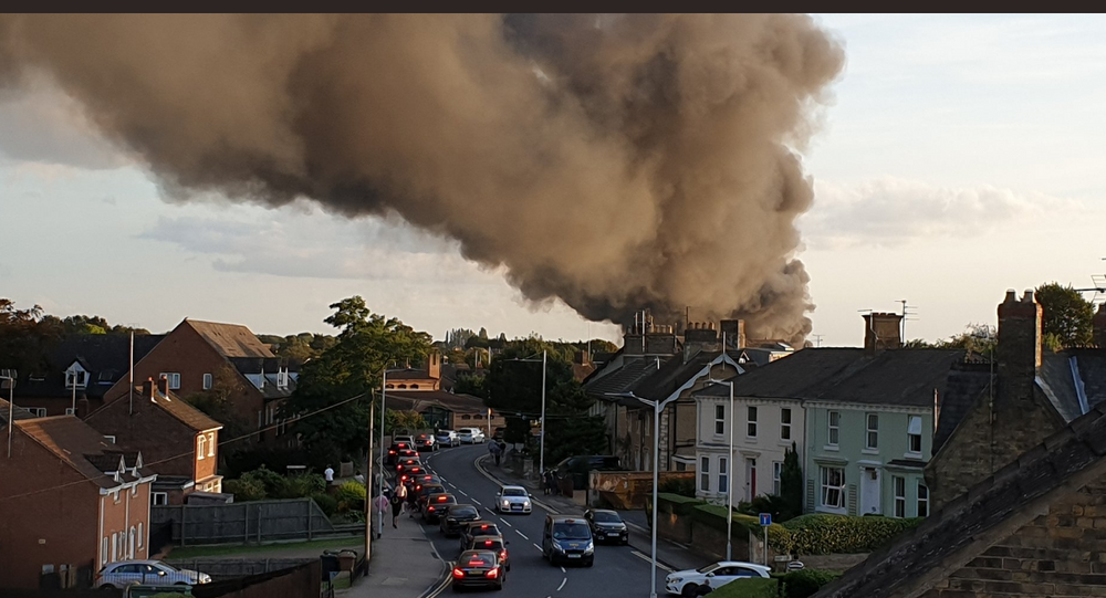 Fire at Peterborough Hotpoint