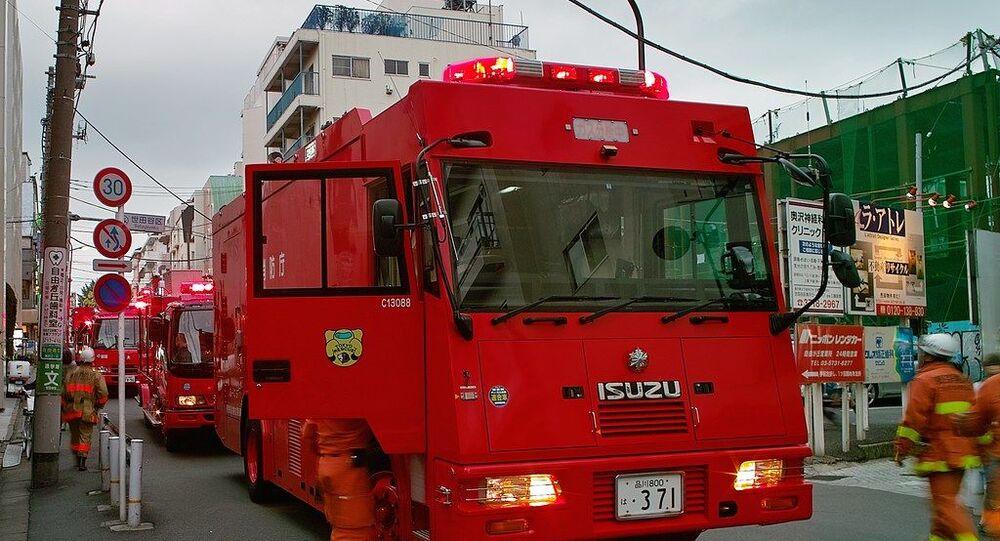 Japan firefighters
