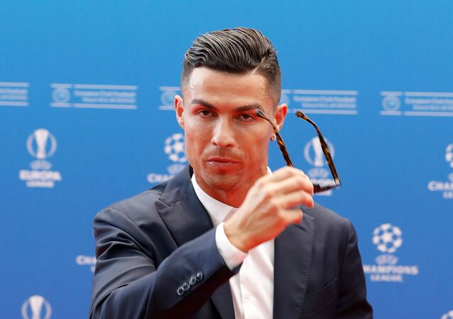 Juventus' Cristiano Ronaldo before the Champions League group stage draw at Grimaldi Forum, Monaco on 29 August 2019.