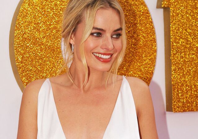 Margot Robbie arrives at the Australian Premiere of 'I, Tonya' on January 23, 2018 in Sydney, Australia.