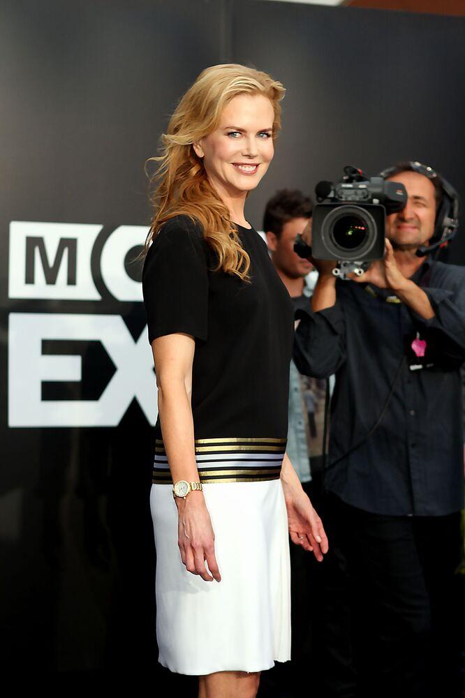 Actress Nicole Kidman at the Tropfest 2012 short film festival in Sydney.