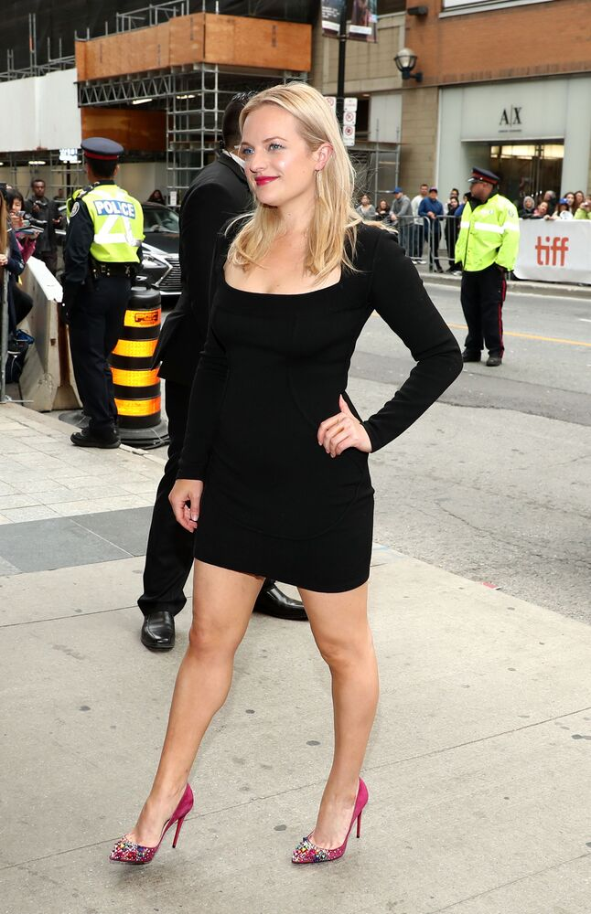 Elisabeth Moss attends the Her Smell premiere during 2018 Toronto International Film Festival at Winter Garden Theatre on September 9, 2018 in Toronto, Canada.