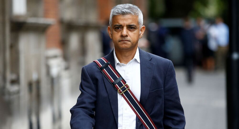 Mayor of London Sadiq Khan walks in Westminster, London, Britain August 28, 2019.
