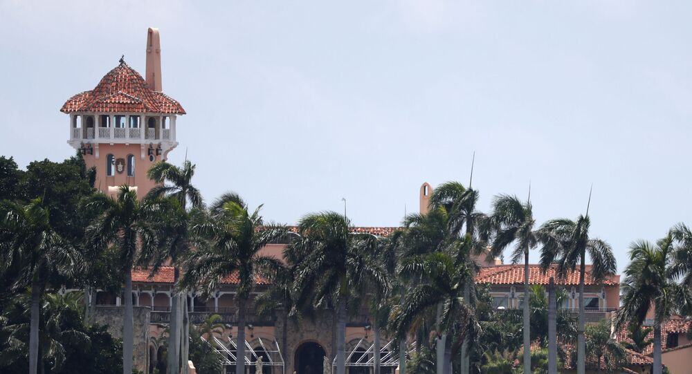 President Donald Trump's Mar-a-Lago estate is shown, Wednesday, July 10, 2019, in Palm Beach, Florida.