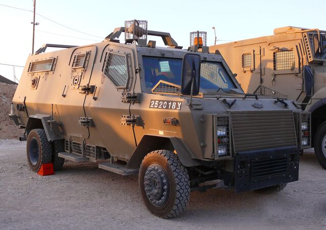 Wolf (Zeev) Armored Vehicle of the Israel Defense Forces