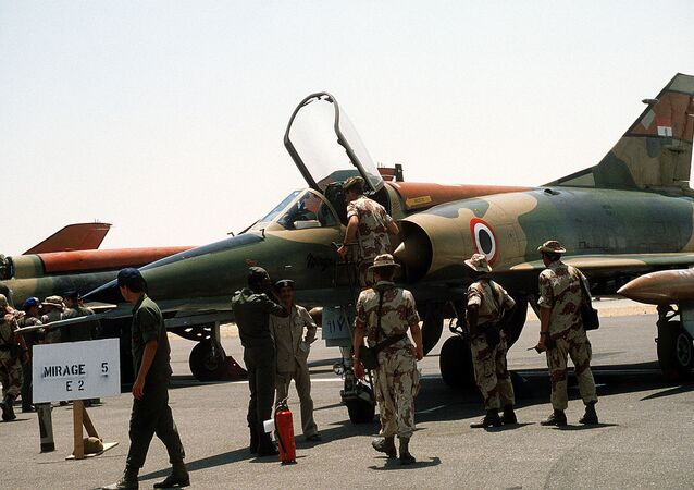 Egyptian Mirage 5 aircraft