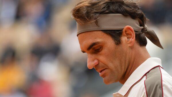 Roger Federer at France Tennis French Open - Sputnik International