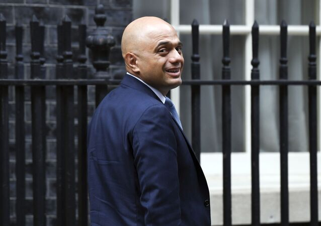 British Chancellor of the Exchequer Sajid Javid leaves 11 Downing Street in London, Wednesday, 4 September 2019