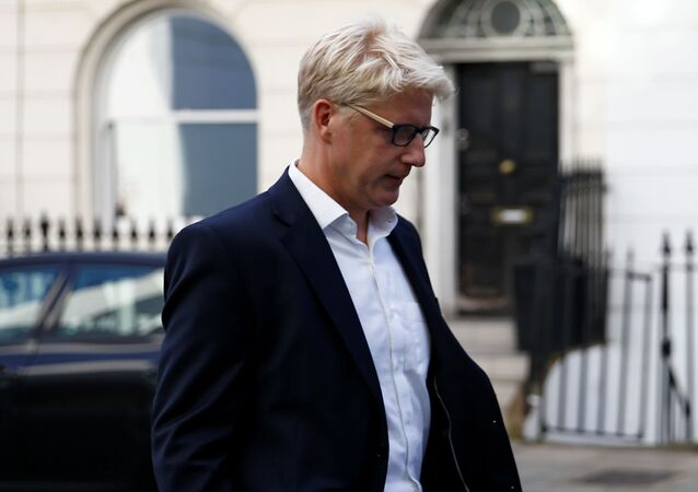 Britain's former Minister of State for Business, Energy and Industrial Strategy Department and Education Department Jo Johnson leaves his home in London, Britain, September 5, 2019