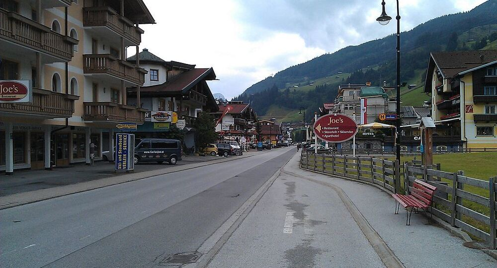 Mainstreet in Gerlos, Austria
