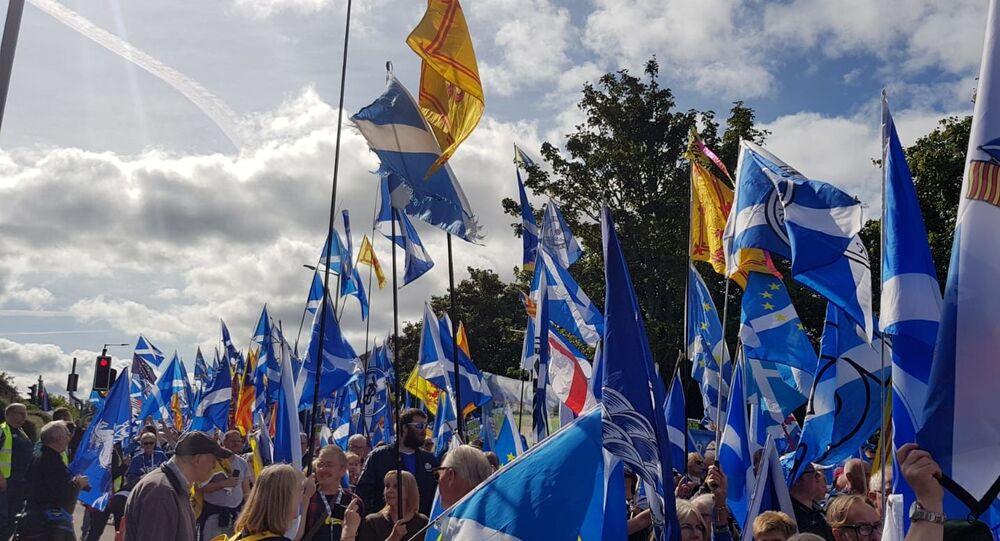 Scottish national flags